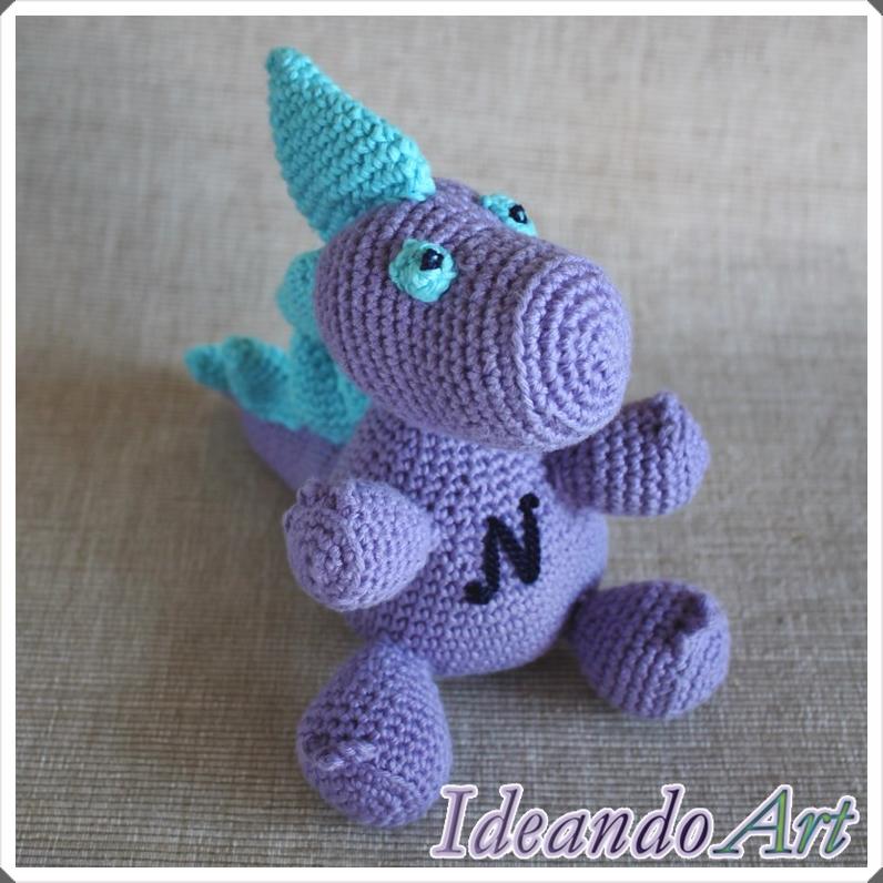 Amigurumi Venta : Dragon amigurumi. Diy box